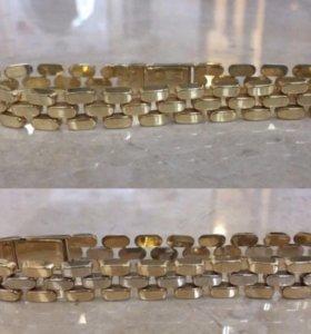 Золотой браслет 16,2 гр