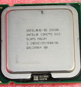 Процессор Intel® Core™2 Duo Processor E4500