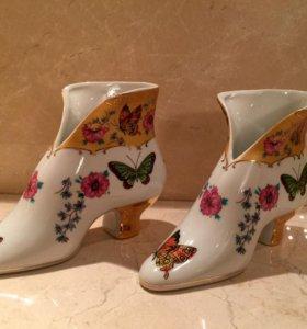 Фарфоровые туфельки