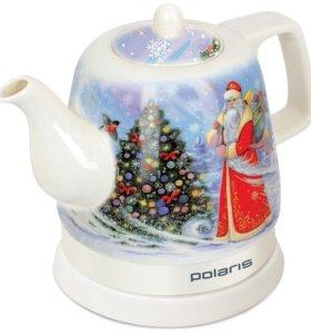 "Чайник электрический Polaris""Дед Мороз"""