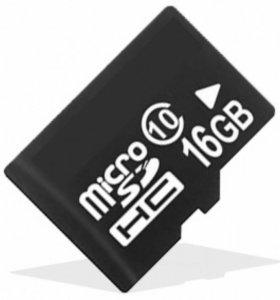 Карта памяти micro sd 16GB
