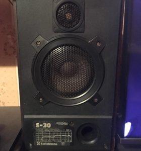 Колонки Radiotehnika S30 и усилитель Вега 10У-120С