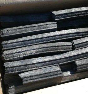 Уголь древесный в брикетах