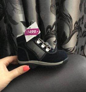 Зимние ботинки, новые