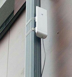 БЕСПЛАТНЫЙ Wi-Fi .До 5км.NanoStation M5