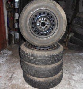 шины Bridgeston с дисками