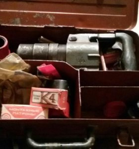 Строительный пистолет пороховой ПЦ 52-1