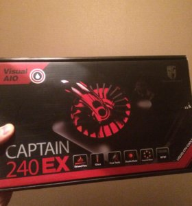 СЖО Deepcool Captain EX 240 red