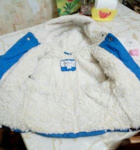 Зимняя куртка на мальчика 86-92