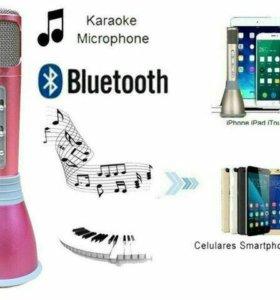 Микрофон с динамиком на аккумуляторе