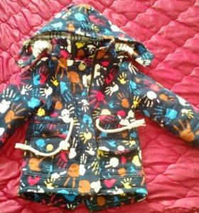 Детская курточка .