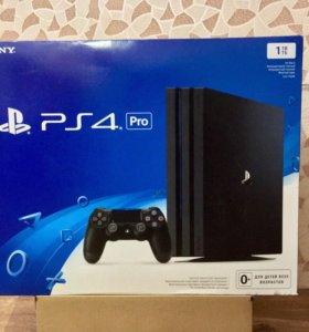 PlayStation 4 Pro + 4 игры
