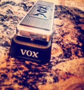 Гитарная педаль VoX wah-wah model v 847