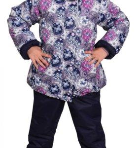 Новый зимний мембранный костюм на девочку