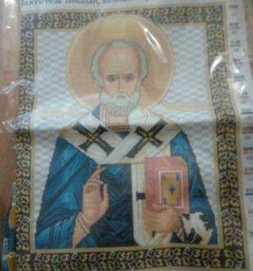 Набор вышивка крестиком икона Николай Чудотворец