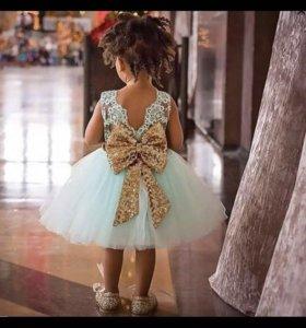 Детские нарядные платье
