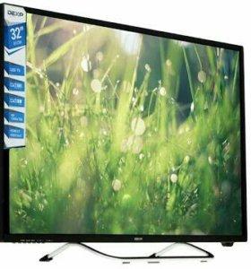 Телевизор Dexp 32 дюйма (новый)