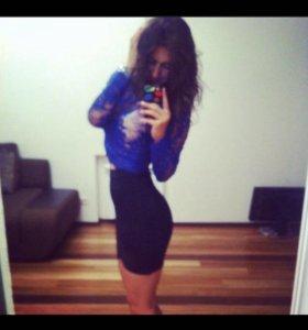 Бандажная юбка новая