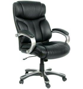 Кожаное кресло, новое!