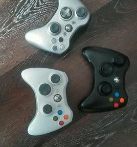 Xbox 360+kinect+3джоя+40игр