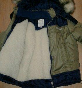 Куртка зимняя р-р 98