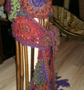 Шапка и шарф. Ручная работа.