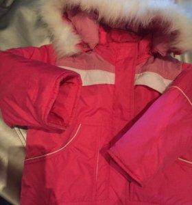 Куртка на 2-4 года