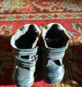 Ботинки осень, весна для мальчика