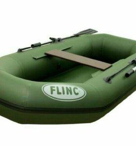 Надувная гребная лодка пвх FLINC F240L