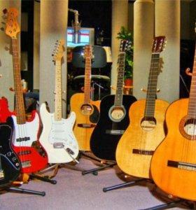 Ремонт,настройка гитар,струнных инструментов
