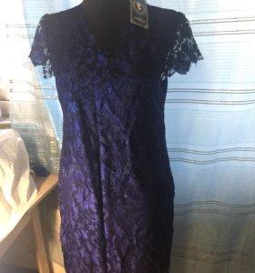 Платье кружевное (новое!)