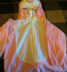 Новогодний кастюм зайки98-102