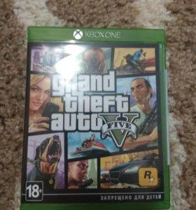 Дикск GTA V для Xbox one/ Обмен.