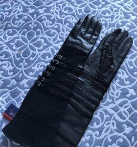 Перчатки длинные женские