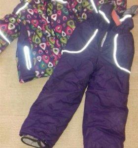 Зимний костюм и другое для девочки 4-6 лет