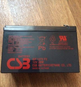 Акб для ибп CSB GP 1272