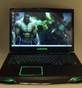 "Игровой Alienware 17"" i7 4710HQ 8gb AMD R9 M290X"