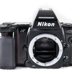 Пленочный зеркальный фотоаппарат Nikon N8008