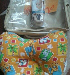 Новая ортопедическая подушка для новорожденных
