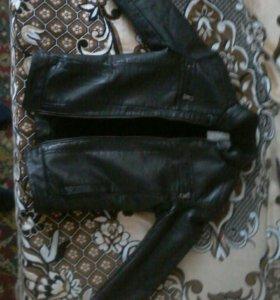 Куртка из кож зам зимния