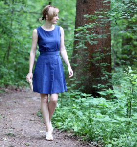 Новое летнее хлопковое платье
