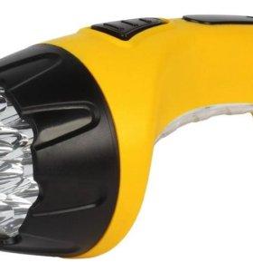 Фонарь аккумуляторный SmartBuy SBF-89-Y,15+10 LED,