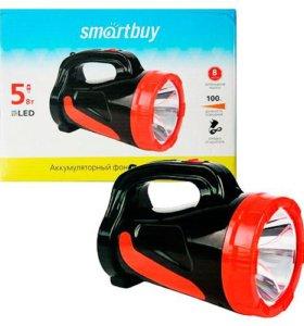 Фонарь аккумуляторный SmartBuy SBF-355-K