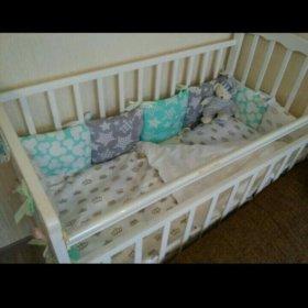 Детские бортики подушки