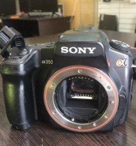 Зеркальный фотоаппарат Sony Alpha dslr-A350 Body