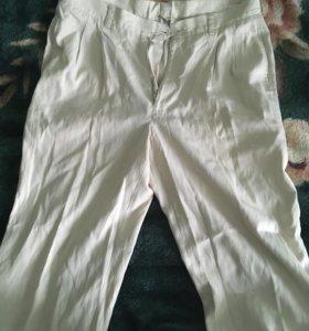 Белые мужские штаны 30р-р