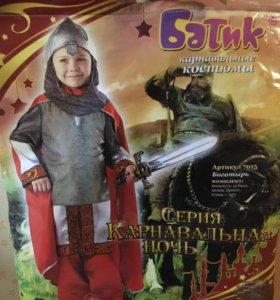 Детский новогодний костюм богатыря