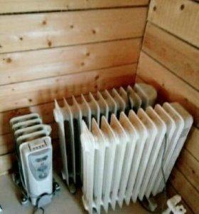 Масляный радиатор (обогреватель)