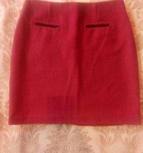 Тёплая юбка, M&S, 42 p