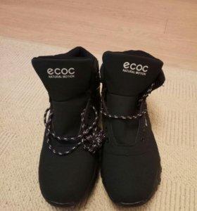 Ботинки зимние ЕСОС новые